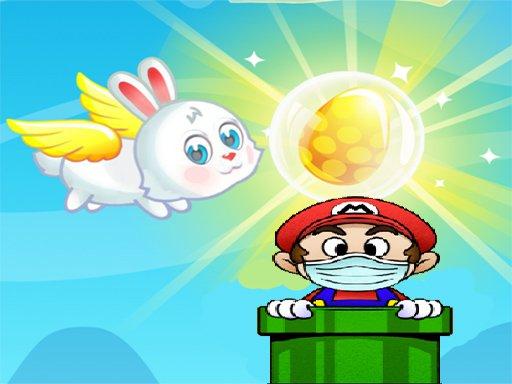 Flying Easter Bunny 2