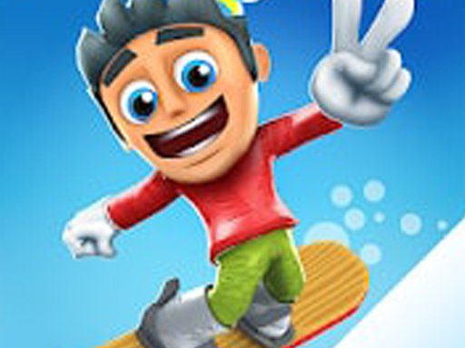 Snowy Skate: Snowboard