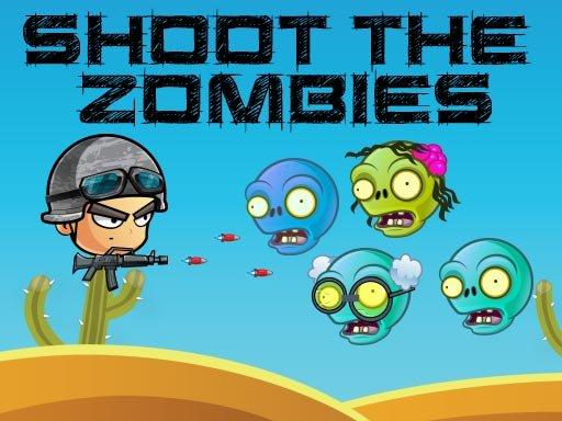 Die Zombies erschießen