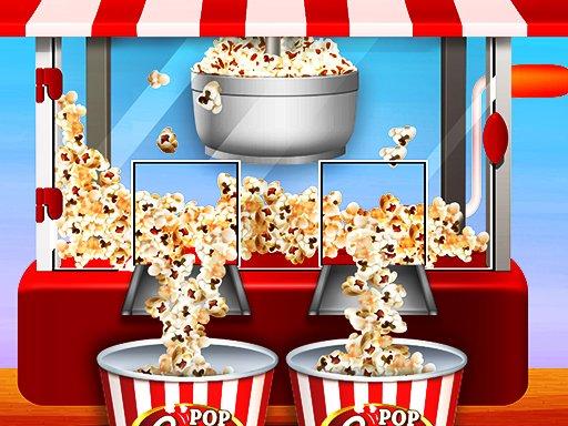 Caramel Popcorn Maker Factory: Knuspriges Popcorn