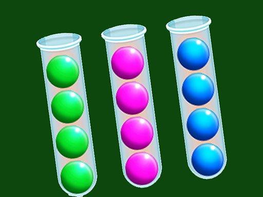 Bubbles-Puzzle Sortieren