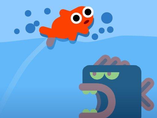 Fisch Springen