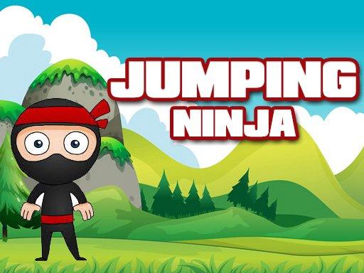 Springender Ninja