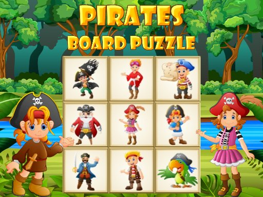 Piratenbrett Puzzle