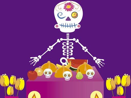 Skelett Party Versteckt