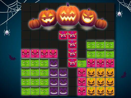Blöcke Puzzle Halloween