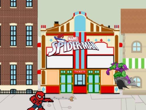 Spider Man vs Goblin