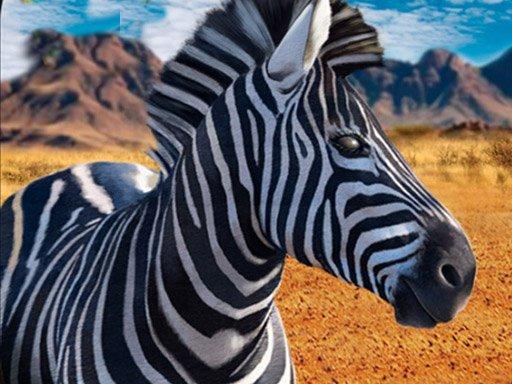 Zebra Hunter Sniper Shooting
