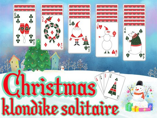 Play Christmas Klondike Solitaire Game