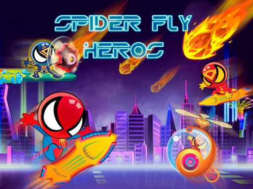 Spider Fly Heroes