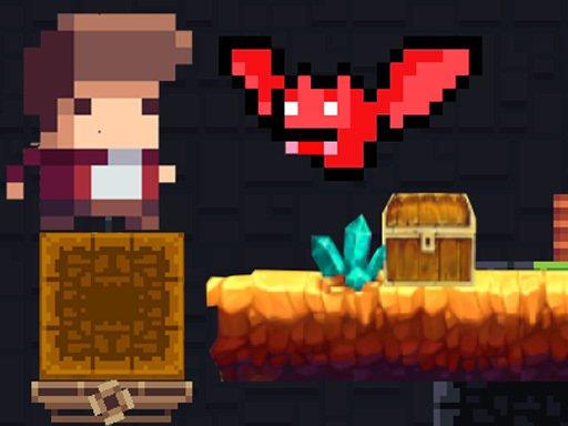 Tiny Man And Red Bat