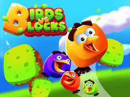 Vögel gegen Blöcke